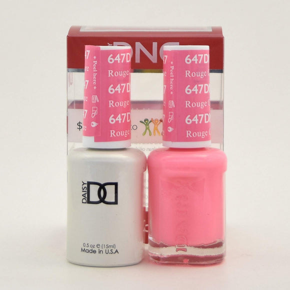 DND Gel & Matching Polish - Duo - (Rouge Couture - DD647)