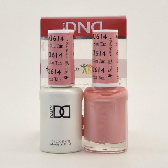 DND Gel & Matching Polish - Duo - (Sun Tan - DD614)