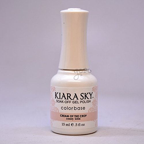 Kiara Sky Gel Soak-Off Gel Polish - 15 mL (Cream Of The Crop - KSG536)