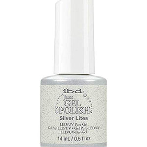 IBD Just Gel Polish - 0.5 oz (Silver Lites  - IBD56572)
