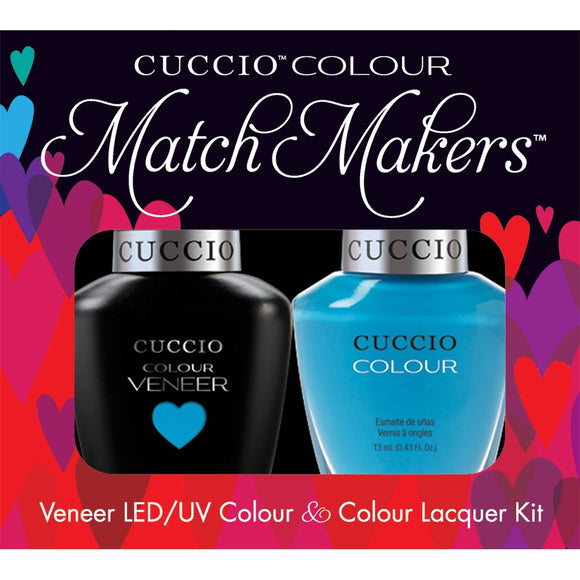 Cuccio Matchmakers - Duo (St. Barts in a Bottle - CU6040)