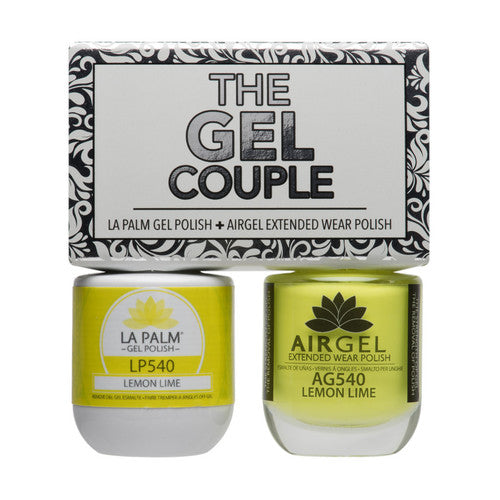 La Palm Gel Couple Duo - 14 mL (Lemon Lime - TGC540)