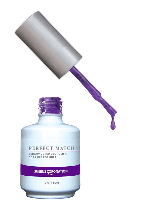 LeChat Perfect Match Nail Polish - 0.5 Oz (Queens Coronation - PMS073)