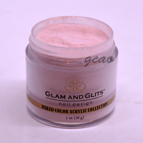 Glam And Glits Naked Acrylic Powder - 1 Oz (Never Enough Nude - NCA396)