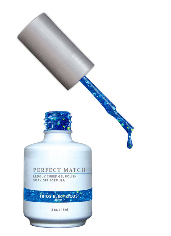 LeChat Perfect Match Nail Polish - 0.5 Oz (Trios Electricos - PMS090)