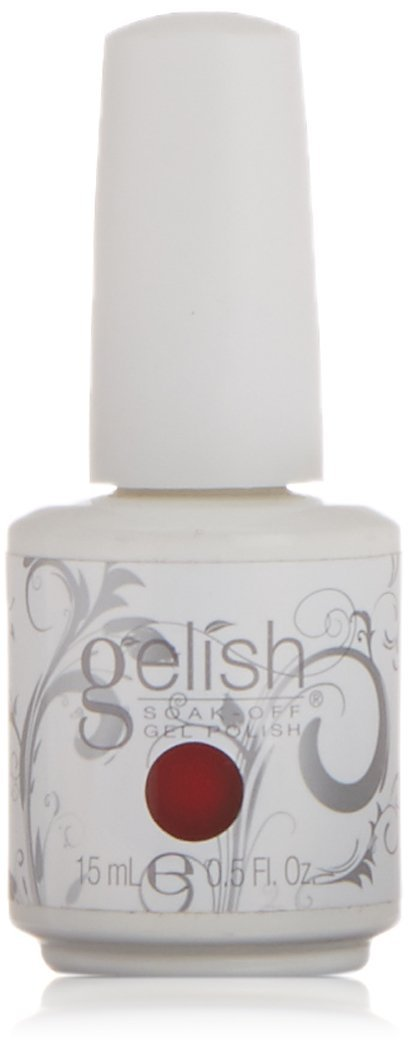 Gelish Soak-Off Gel (O) - 15 mL (Fire Cracker - GL01078, 0.5 Oz)