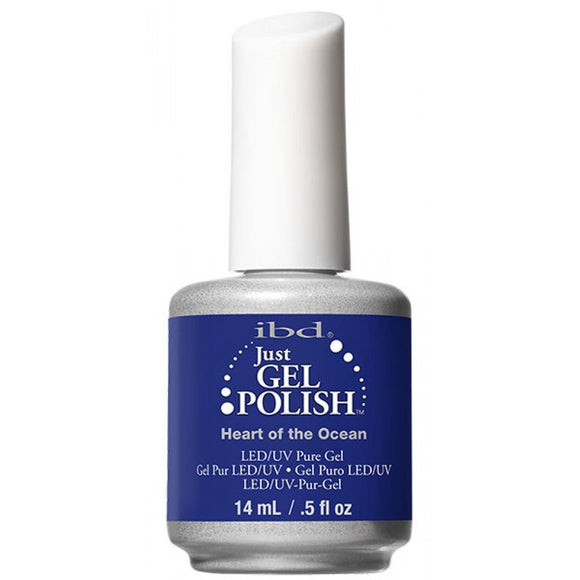 IBD Just Gel Polish - 0.5 oz (Heart Of The Ocean  - IBD56683)
