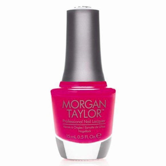 Morgan Taylor Professional Nail Lacquer  - 15 mL (Prettier In Pink  - MT50022)