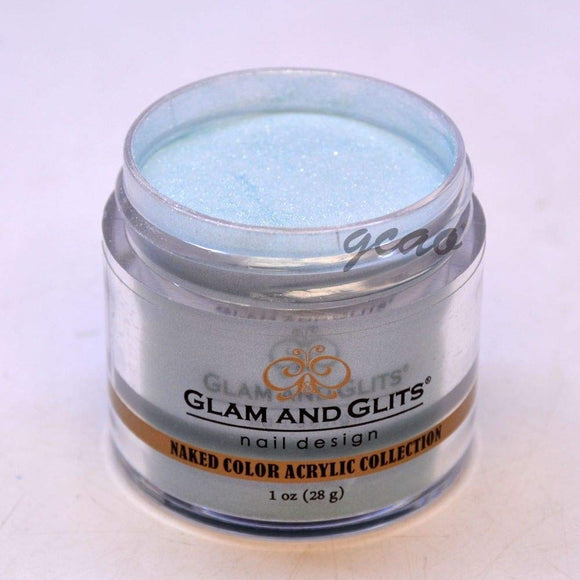 Glam And Glits Naked Acrylic Powder - 1 Oz (Teal Me In - NCA434)