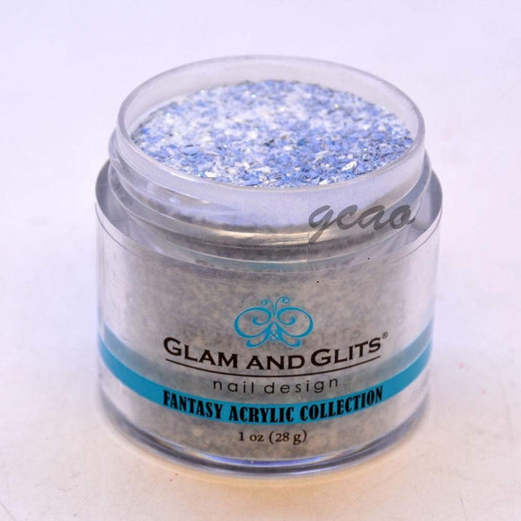 Glam And Glits Fantasy Acrylic Powder - 1 Oz (Blue Smoke - FAC516)