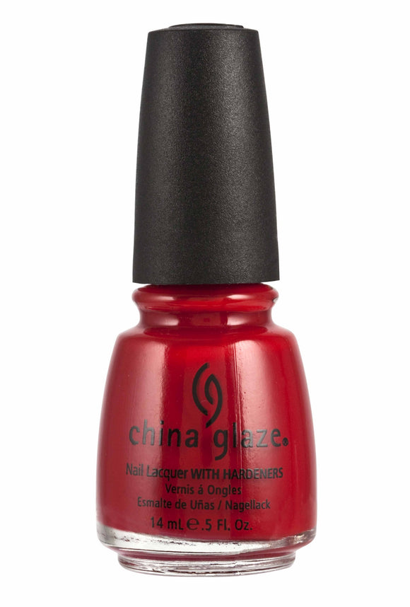 China Glaze Lacquer - 14 mL (Vermillion - CG70333)