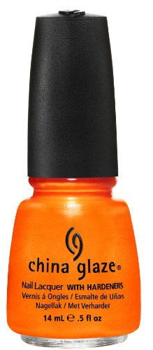 China Glaze Lacquer - 14 mL (Orange You Hot? - CG80445)