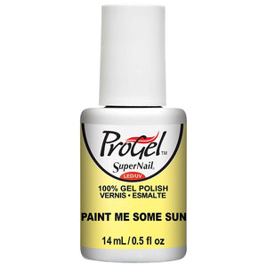 SuperNail ProGel - 0.5 Oz (Paint Me Some Sun - SN81916)
