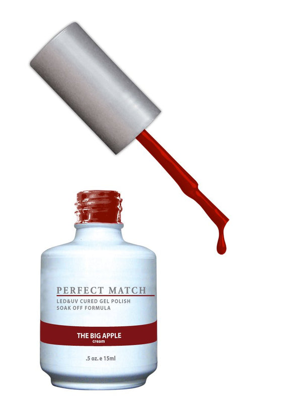 LeChat Perfect Match Nail Polish - 0.5 Oz (The Big Apple - PMS140)
