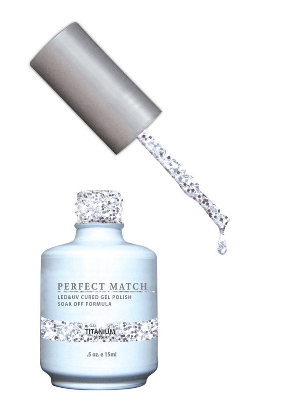 LeChat Perfect Match Nail Polish - 0.5 Oz (Titanium - PMS134)
