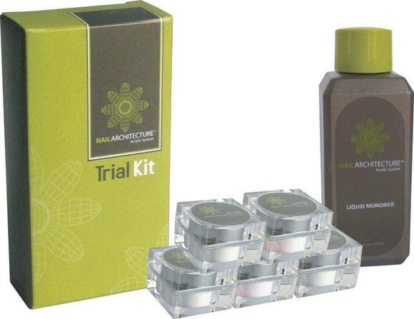LECHAT NAIL ARCHITECTURE ACRYLIC SYSTEM TRIAL KIT #NAAS02