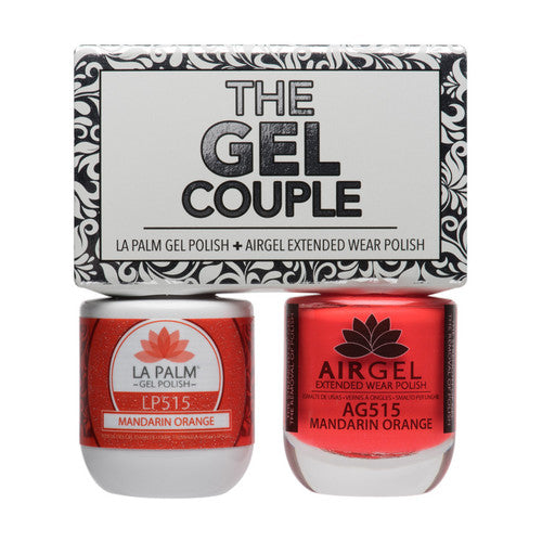 La Palm Gel Couple Duo - 14 mL (Mandarin Orange - TGC515)