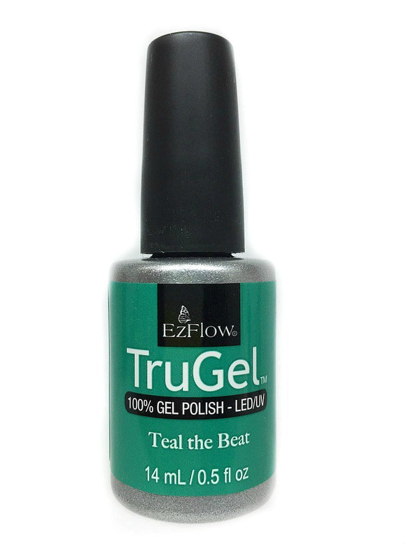 Ez Flow TruGel LED/UV Gel Polish - 14 mL (Teal The Beat - EZTG42570)