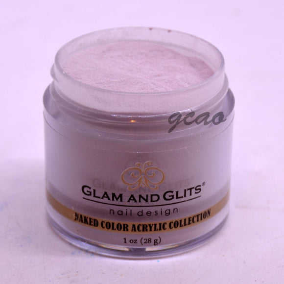 Glam And Glits Naked Acrylic Powder - 1 Oz (Mauveover, My Turn - NCA416)