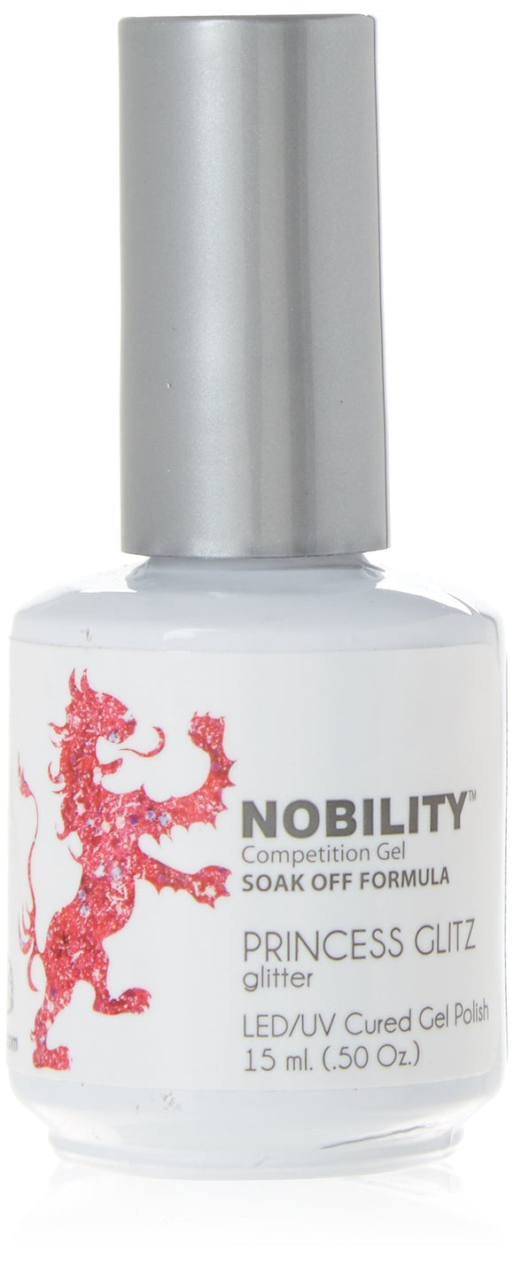 LeChat Nobility Gel Polish - 15 mL (Princess Glitz - NBGP71)