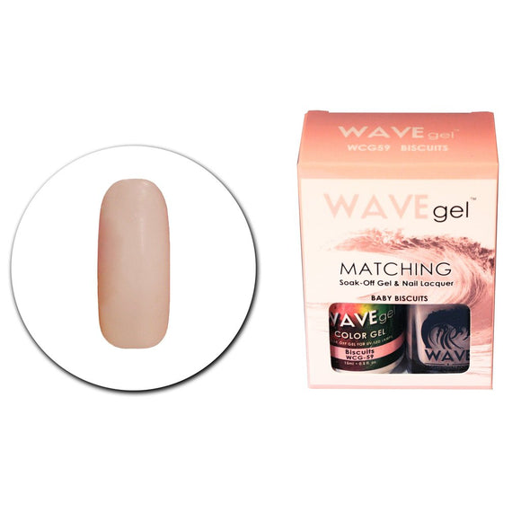Wave Gel Matching Duo (Baby Biscuits - WCG59)