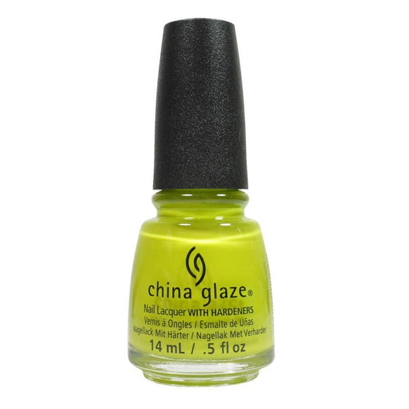China Glaze Lacquer - 14 mL (Trip of A Lime Time  - CG82379)