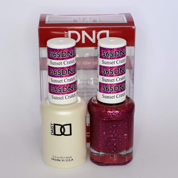 DND Gel & Matching Polish - Duo - (Sunset Crater - DD565)