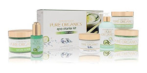 Pure Organics Spa Starter Kit (Cucumber Splash - POCS605)