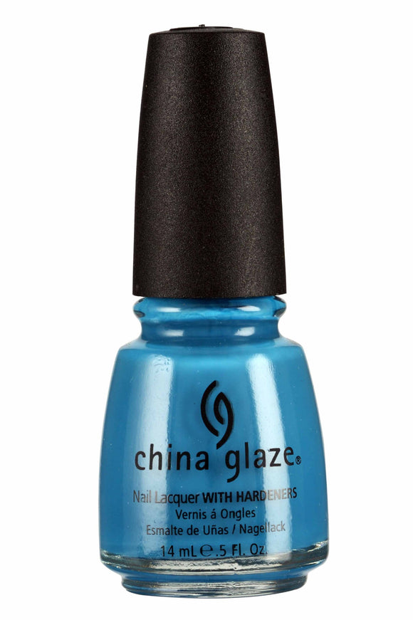 China Glaze Lacquer - 14 mL (Aqua Baby - CG70281)
