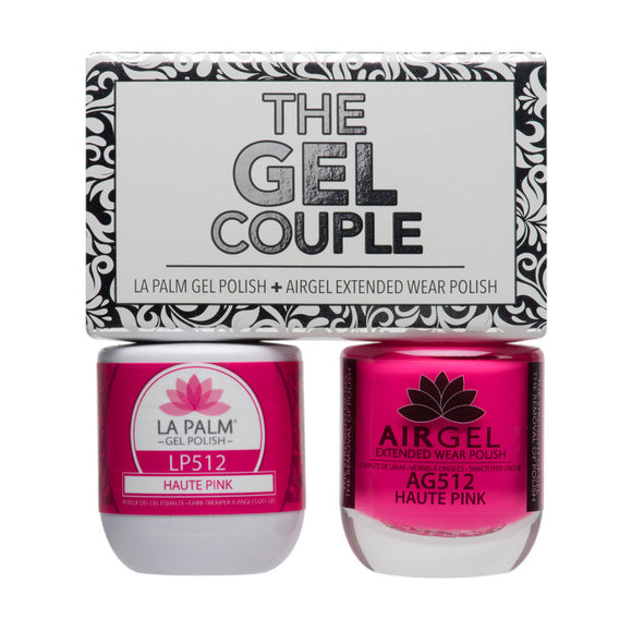 La Palm Gel Couple Duo - 14 mL (Pink Flamingo - TCG511)