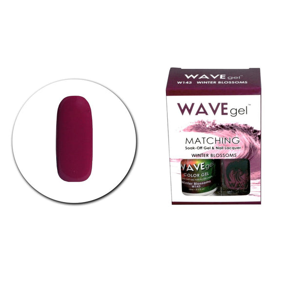 Wave Gel Matching Duo (Winter Blossoms - W143)