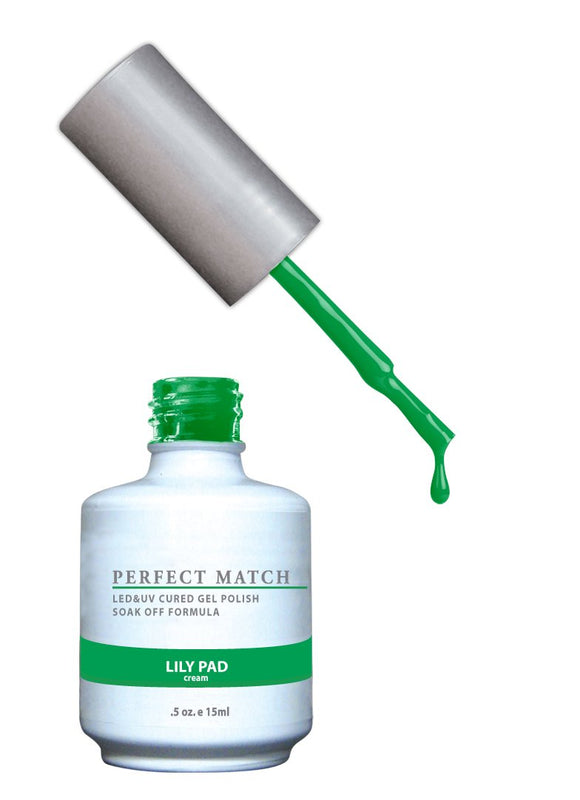 LeChat Perfect Match Nail Polish - 0.5 Oz (Lily Pad - PMS099)