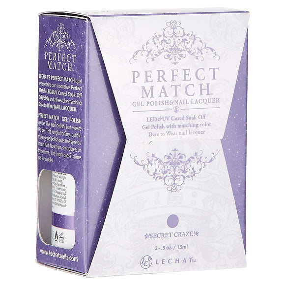 LeChat Perfect Match Nail Polish - 0.5 Oz (Secret Craze - PMS182)