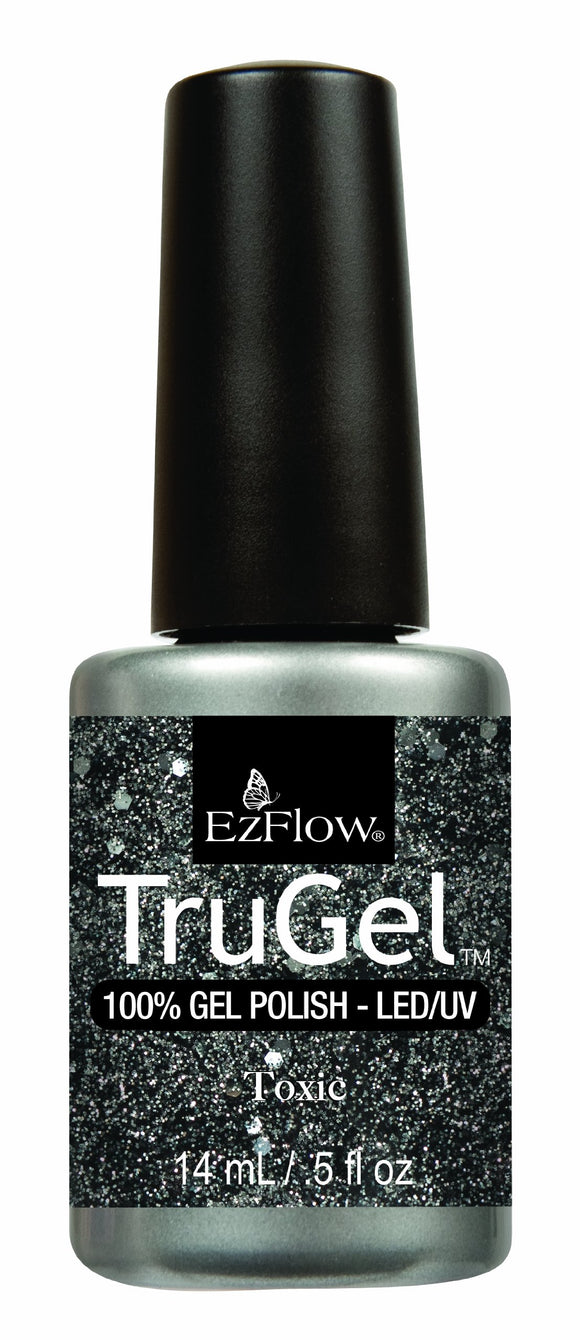 Ez Flow TruGel LED/UV Gel Polish - 14 mL (Toxic - EZTG42480)