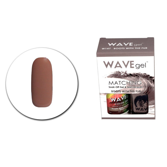 Wave Gel Matching Duo (Boots With The Fur - W147)