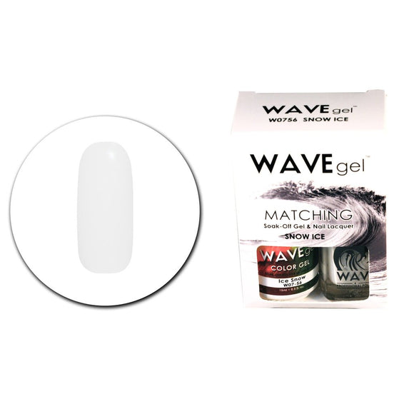 Wave Gel Matching Duo (Snow Ice - W0756)