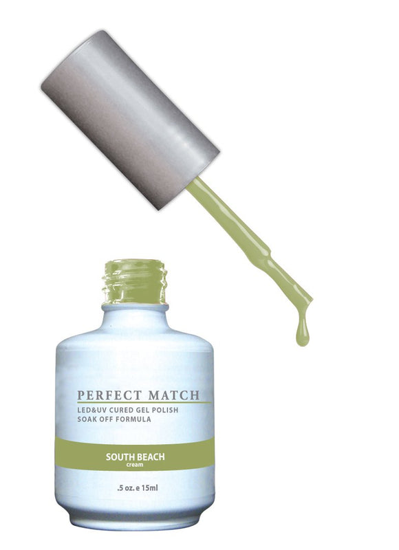 LeChat Perfect Match Nail Polish - 0.5 Oz (South Beach - PMS144)