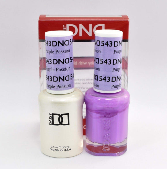 DND Gel & Matching Polish - Duo - (Purple Passion - DD543)