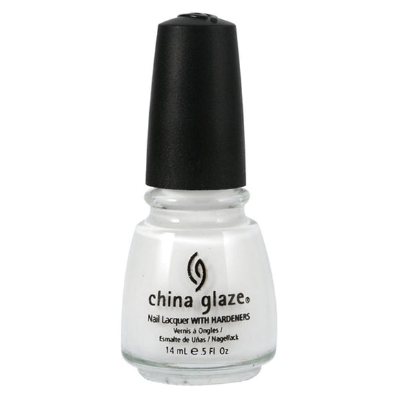 China Glaze Lacquer - 14 mL (Snow  - CG80411)