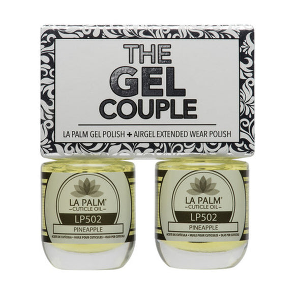 La Palm Gel Couple Duo - 14 mL (Pineapple - TGC502)
