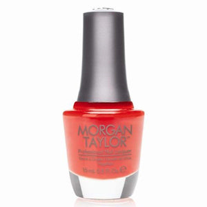 Morgan Taylor Professional Nail Lacquer  - 15 mL (Orange You Glad  - MT50027)