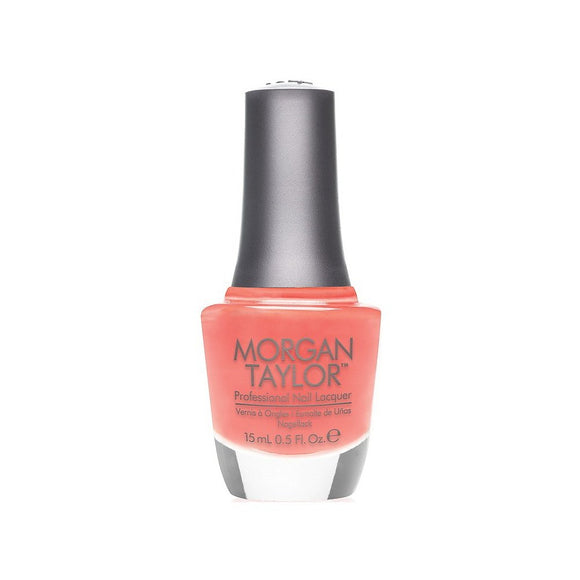 Morgan Taylor Professional Nail Lacquer  - 15 mL (Candy Coated Coral  - MT50024)