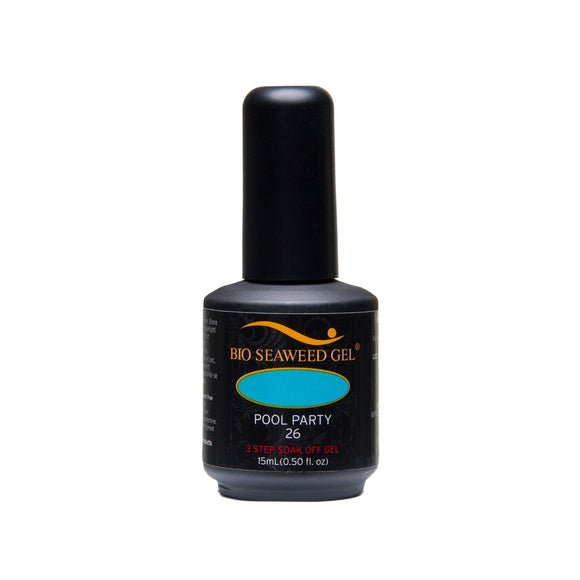 Bio Seaweed Gel 3Step Colour Gel Polish - 15 mL (Pool Party - BSG26)