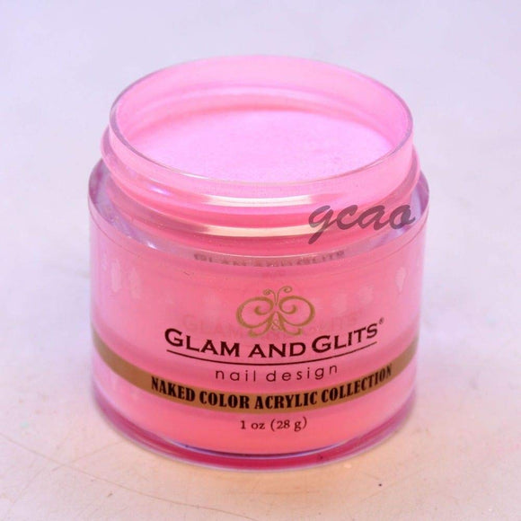 Glam And Glits Naked Acrylic Powder - 1 Oz (Pink Me or Else! - NCA412)