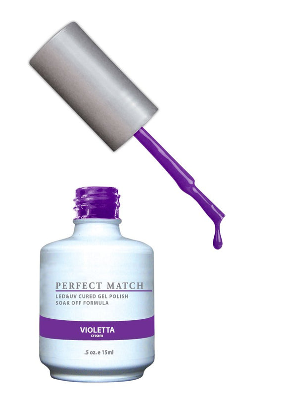 LeChat Perfect Match Nail Polish - 0.5 Oz (Violetta - PMS102)