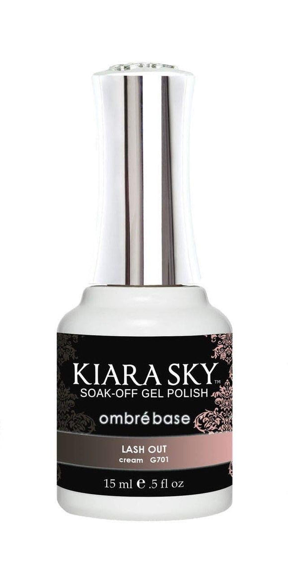 Kiara Sky Gel Soak-Off Gel Polish - 15 mL (Lash Out - KSG701)