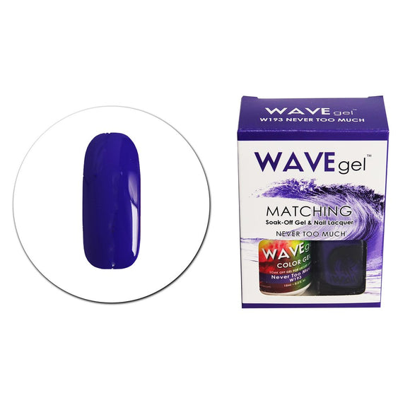 Wave Gel Matching Duo (Never Too Much - W193)
