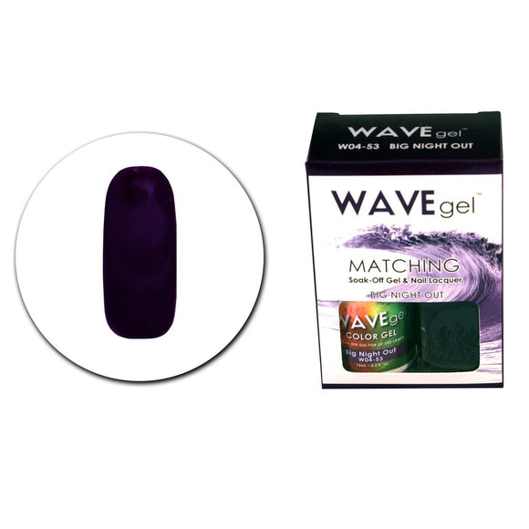 Wave Gel Matching Duo (Big Night Out - W0453)