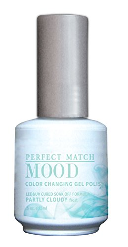 LeChat Perfect Match Mood Gel Polish - 0.5 Oz (Partly Cloudy - LCPM2281)