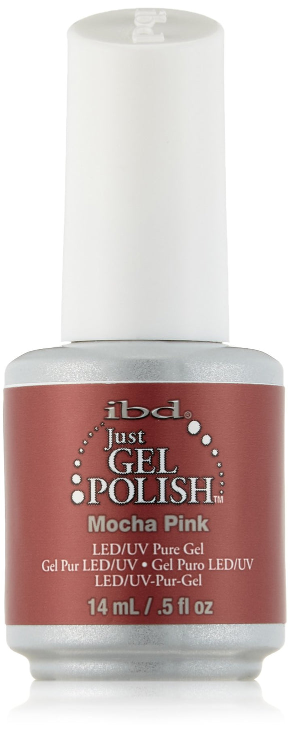 IBD Just Gel Polish - 0.5 oz (Moach Pink  - IBD56504)